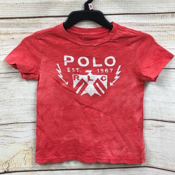 Polo by Ralph Lauren Other - Boys Polo Ralph Lauren Designer T Shirt Sz 6